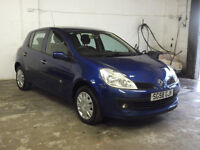 RENAULT CLIO 1.1( LOW MILEAGE,LOW INSURANCE) 5 DOOR