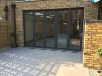 Bifolding doors and windows beautifully engineered in aluminium or timber and finished in any colour