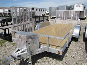 2017 Mission Trailers 16ft Aluminum ATV Trailer Order Yours Toda