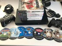 PS2 - 15 Games - 2 Controllers - Playstation 2
