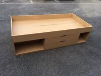 Single cabin bed no mattress