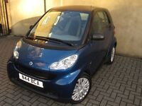 SMART FOURTWO SEMI-AUTO 1.0 COUPE (TIPTRONIC) FSH, LOW MILEAGE, AUX, GOOD SPEC! PRICE REDUCED £2250