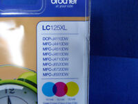 Genuine Brother Ink Cartridge Rainbow Pack LC125XL
