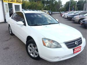 2002 Nissan Altima S / AUTO / POWER GROUP / ALLOY WHEELS + MORE!