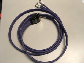 IXOS Flat Cable Scart to Stereo Phono/SVideo