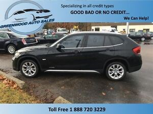 2012 BMW X1 XDrive! Black on black leather! AWD! Great looking