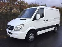 Showroom condition with a mere 60k Mercedes 209cdi swb high roof van for sale rare model of van