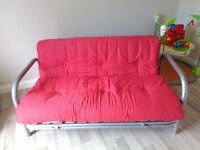 Futon Sofa Bed with Mattress