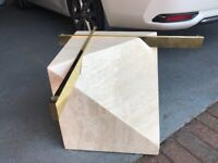 Marble coffee table base