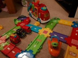Vtech toot toot road and vehicles