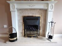 Adam's Styles Fireplace with Gas Fire, including Accessories