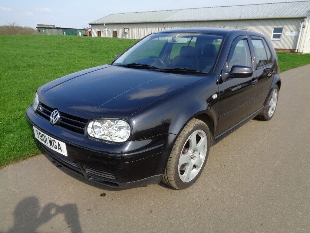 vw golf mk4 2 8l v6 4motion 2001 full mot fsh black immaculate condition in hadlow kent. Black Bedroom Furniture Sets. Home Design Ideas