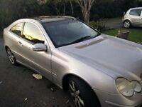 2003 Mercedes Benz C CLASS Coupe Automatic 1.8