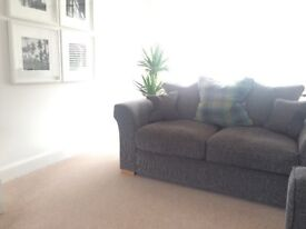 Sold pending collection 2&3 Seater Charcoal Sofas