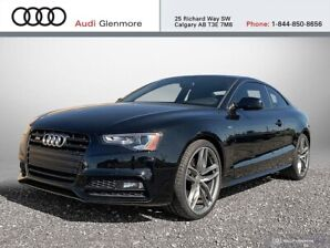 2017 Audi S5 3.0T Dynamic Edition quattro 6sp Cpe Turn Up The H