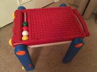 Walker and Activity/Duplo Table