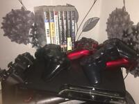 My Gt bike with upgrades and a PS3 with 7 games and 5 controllers