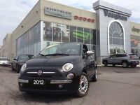 2012 Fiat 500 1 OWNER - LOUNGE - 5SPD - P.SUNROOF