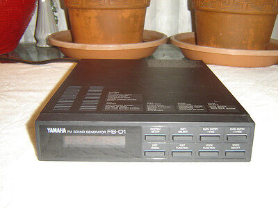 Yamaha FB-01, FM Sound Generator, Vintage Unit for sale  Shipping to India