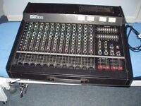 Yamaha EMX300 Powered Mixer & Yamaha SV15 Speakers