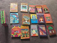 Collection 19 jacqueline wilson books