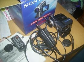 Sony Handy cam DCR PC330E spares or repair