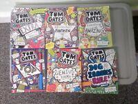 Tom Gates Books (x6) by L. Pichon