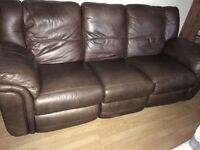 3 & 2 Seater Sofa + Foot Stool for Sale
