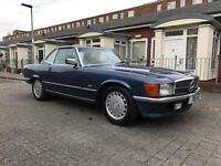 Mercedes 300sl 1986 hardtop low miles 280 350 420 500