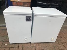 GRADED CHEST FREEZERS STARTING AT £12-