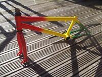 Rasta mafia frame and forks - BMX spares or repair