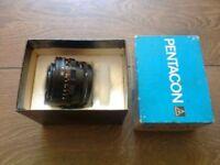 Pentacon Objektive 3.5/30 Camera Lens