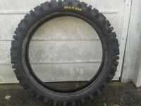 Maxxis motorcross tyre