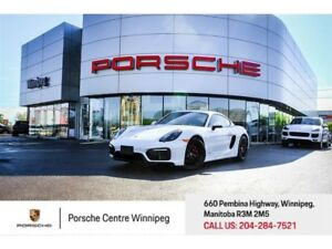 2016 Porsche Cayman GTS Certified Pre-Owned With Warranty Availa