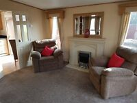 BEAUTIFUL STATIC HOLIDAY HOME FOR SALE NR SEATON DELEVAL, SEAHOUSES, WARKWORTH, MORPETH, SANDYBAY