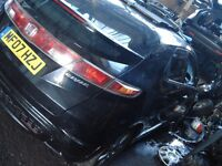 Breaking Honda civic 07 / 08 plate 5dr all parts that you can see available