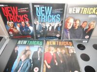 NEW TRICKS DVDS SERIES 1-5 - £5 FOR ALL