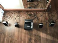 Xenta 5.1 Surround Sound speakers