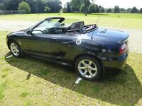 MG TF 1.8, 135 BHP, Anthracite. 52 Reg. 62,800 miles. Only 2 owners.