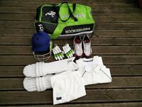 Age 10-12 Boys Cricket Gear for Sale - can be sold together or separately