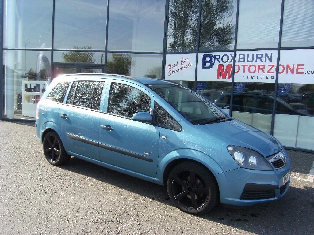 7SEATER !!! 2006 06 VAUXHALL ZAFIRA 1.6 LIFE 16V 5d 105 BHP **** GUARANTEED FINANCE **** PART EX WEL