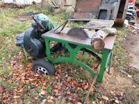 Vintage Diesel Saw for Sale