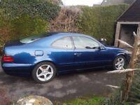 Mercedes-Benz, CLK, Coupe, 2000, Semi-Auto, 1998 (cc), 2 doors