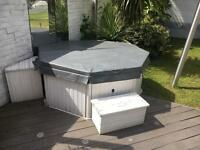 Hot tub - new heater, motor and cover