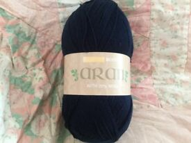 Hayfield bonus 400g wool yarn brand new