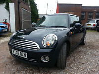 HPI Clear, Beautiful Black Mini, 2 Owners, Clean MOT exp March 2017, Service History