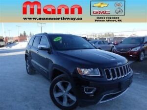 2016 Jeep Grand Cherokee Limited | 4x4, Nav, Leather, Alloys, Bl