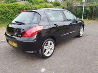2008 Peugeot 308 1.6 THP Sport 5dr Manual @07445775115