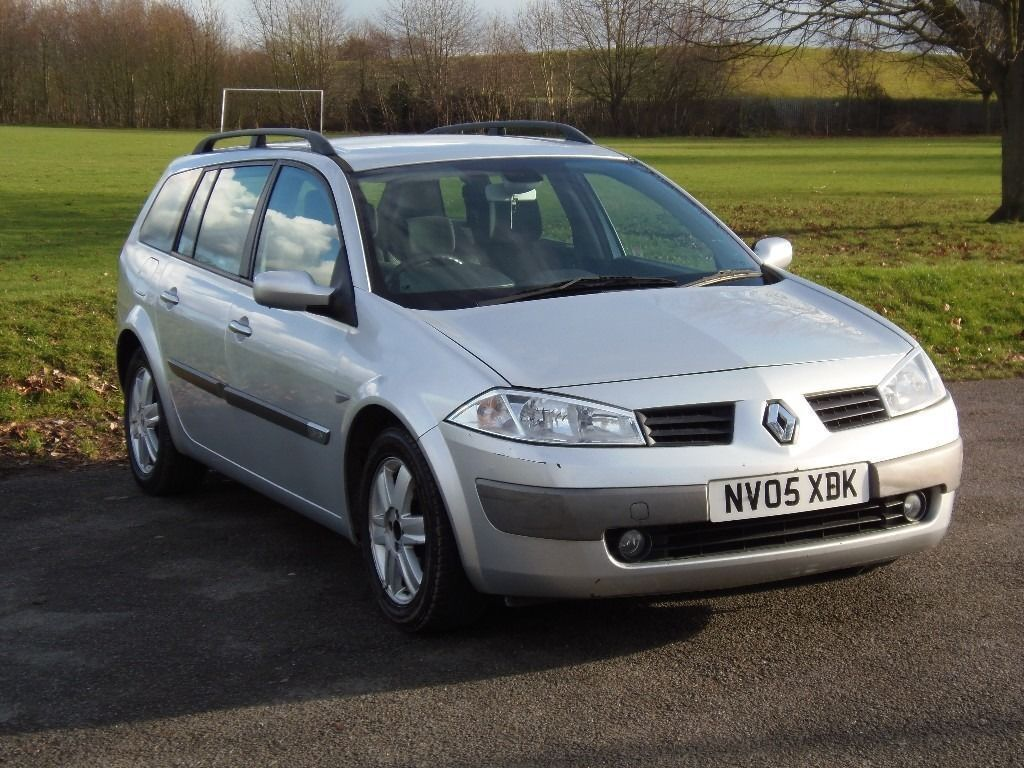 renault megane estate 2005 1 6 petrol automatic low mileage new mot in south croydon. Black Bedroom Furniture Sets. Home Design Ideas