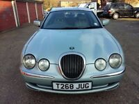 JAGUAR S-TYPE V6 AUTOMATIC. 4 DOOR SALOON CAR. PETROL